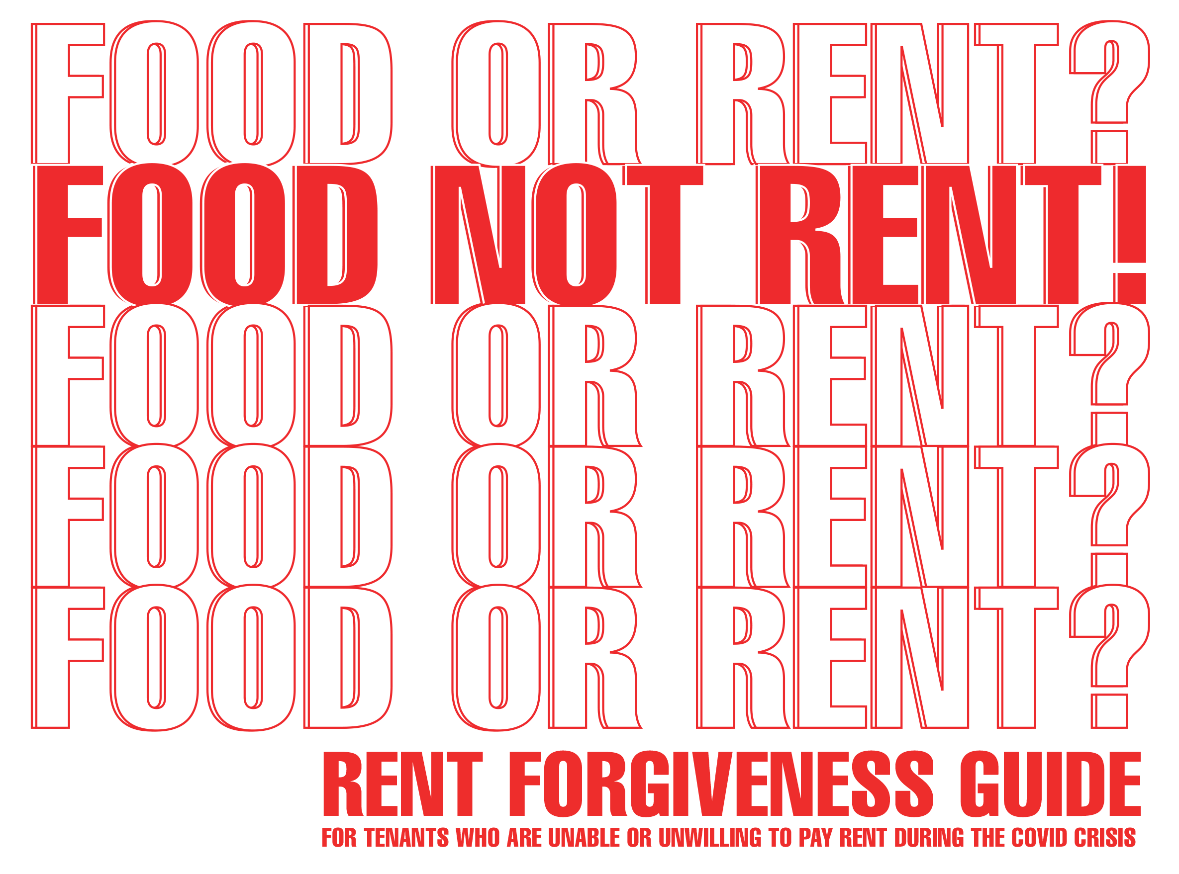 food not rent